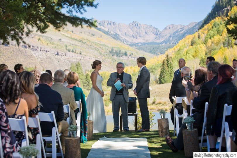 Ceremony in the Mountains!