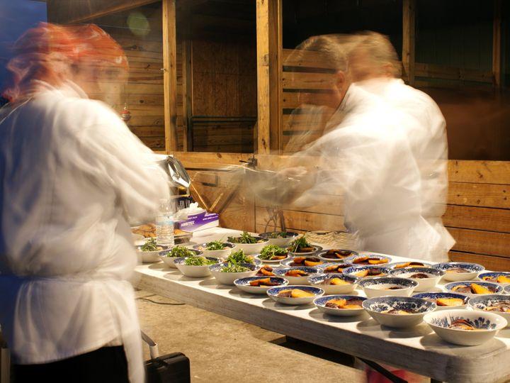 Tmx 1498677595570 Chefs Plating02 Sarasota wedding catering