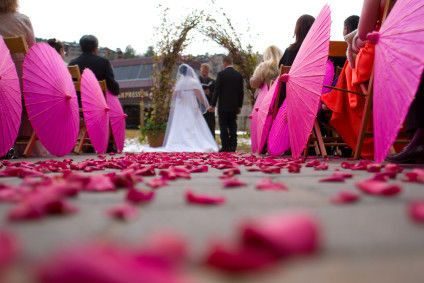 Our Outdoor Weddings
