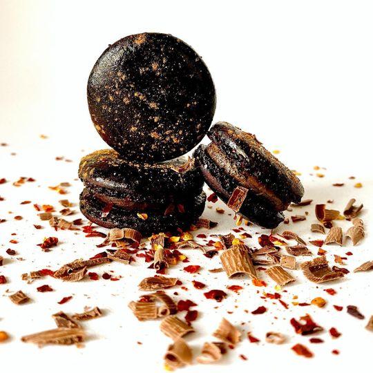 .chocolate, chili & cinnamon.
