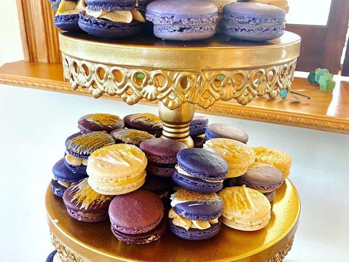 Tmx Faber Wedding Purple Macarons 2 51 1896093 160142959413700 Saint Louis, MO wedding cake