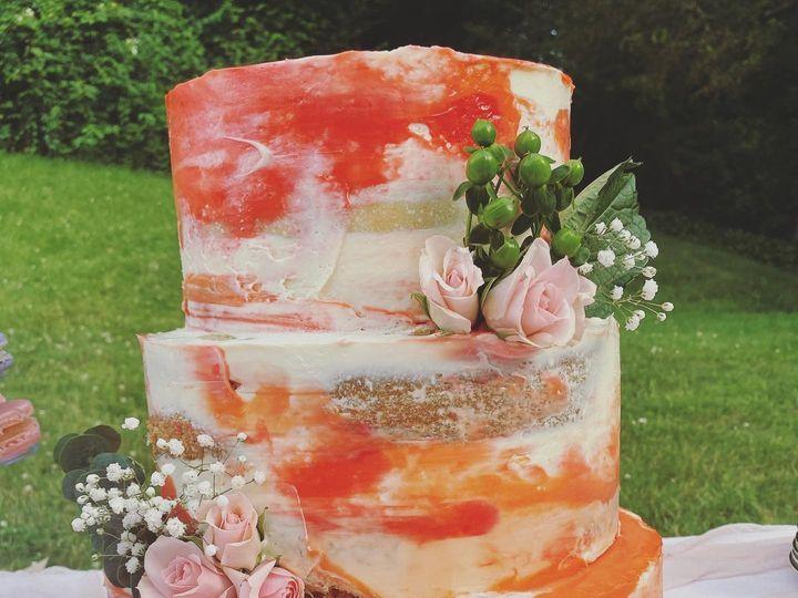 Tmx Peach Watercolor Wedding Cake 51 1896093 159380571933676 Saint Louis, MO wedding cake