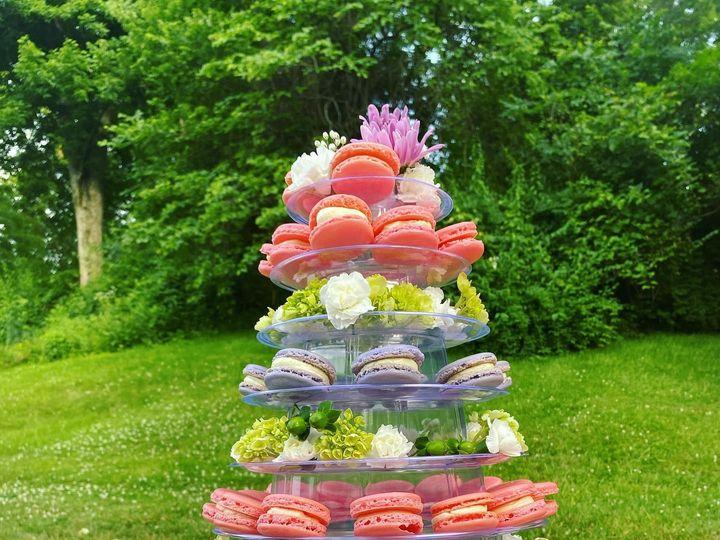 Tmx Wedding Macaron Tower 51 1896093 159380573315709 Saint Louis, MO wedding cake