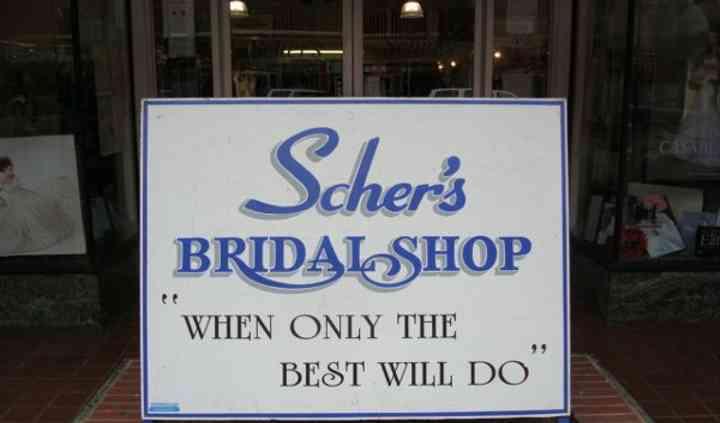 Scher's Bridal Shop