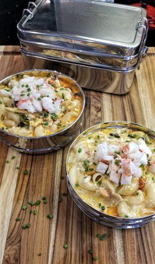 Crab and Poblano Gourmet Mac