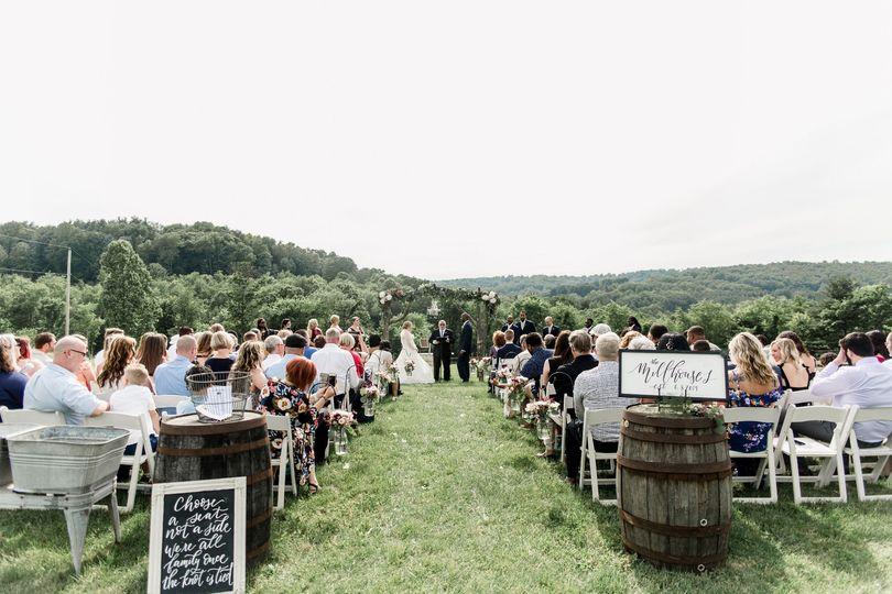 Hilltop ceremony