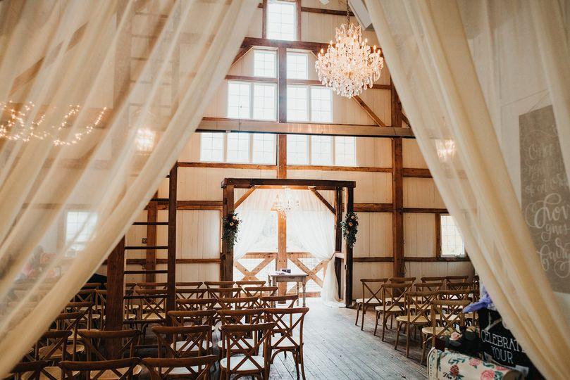 Indoor ceremony option