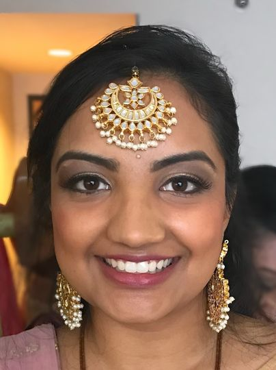 Makeup for the bridal party