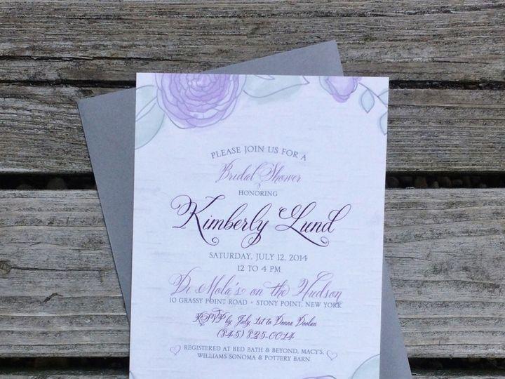 Tmx 1424404574296 Lddkimberlybridalshower Briarcliff Manor, New York wedding invitation