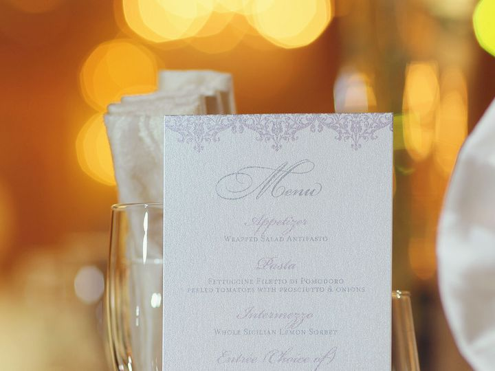 Tmx 1424405654289 Lddjuliannamenuwm Briarcliff Manor, New York wedding invitation