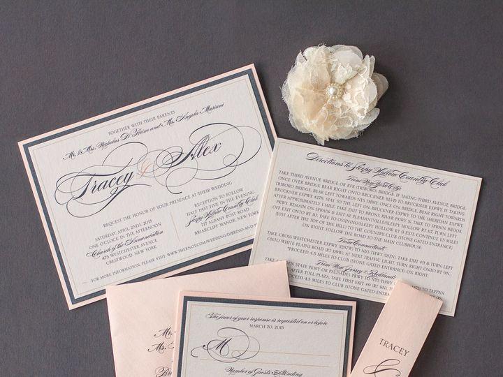 Tmx 1459266209445 Ldddibrinoinvitation Briarcliff Manor, New York wedding invitation