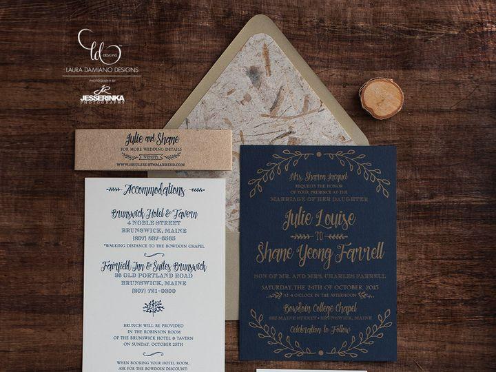 Tmx 1459266227534 Lddjacquetinvitation Briarcliff Manor, New York wedding invitation