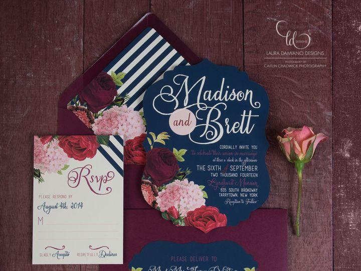 Tmx 1459266251862 Lddmadisoninvitation Briarcliff Manor, New York wedding invitation