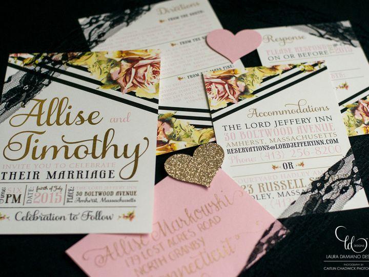 Tmx 1459266259997 Lddmarkoswkiinvitation Briarcliff Manor, New York wedding invitation