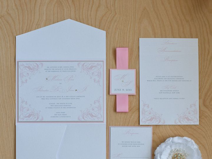 Tmx 1459266488690 Lddpenainvitation Briarcliff Manor, New York wedding invitation