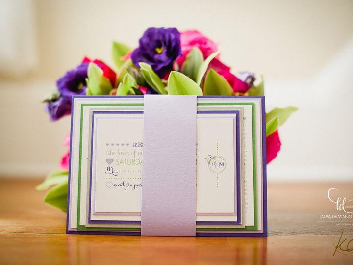 Tmx 1459266497116 Lddprunellainvitation Briarcliff Manor, New York wedding invitation