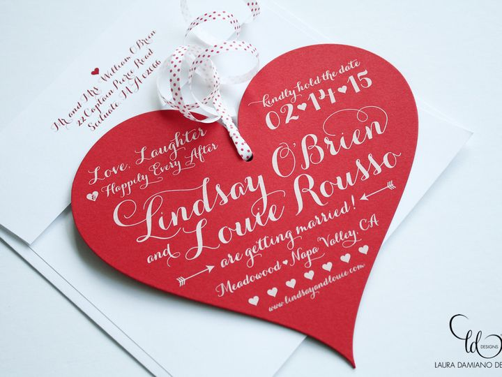 Tmx 1459267414593 Lddlindsaylouiesavethedate Briarcliff Manor, New York wedding invitation