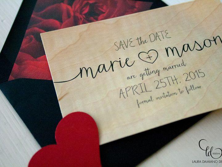 Tmx 1459267422839 Lddmariemasonsavethedate Briarcliff Manor, New York wedding invitation