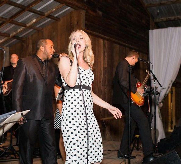 Passionate singing