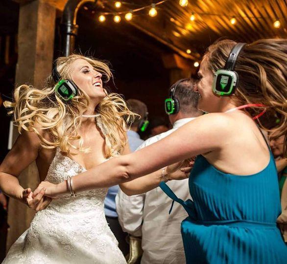 Silent party bride