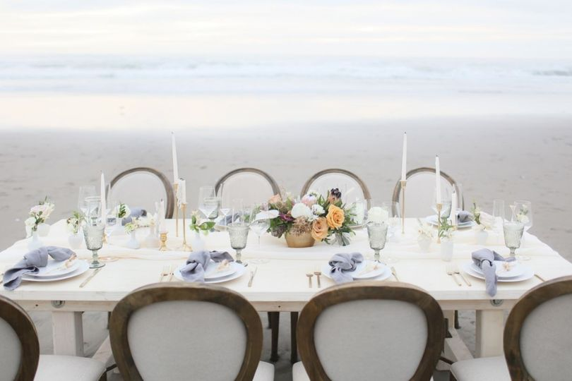 Rehearsal Dinner on the beach