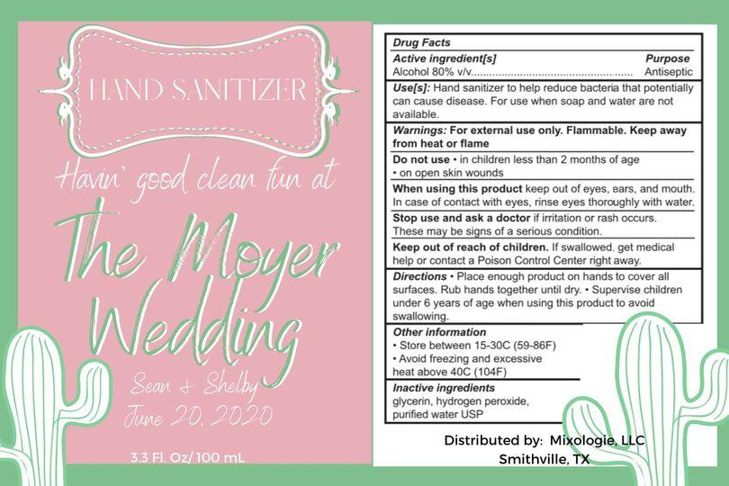 moyer wedding sanitizer label 51 1972193 159127995823251