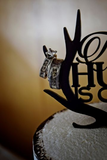 Ring Bling/Cake Topper
