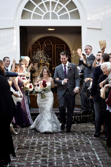 After Ceremony - Flower Toss