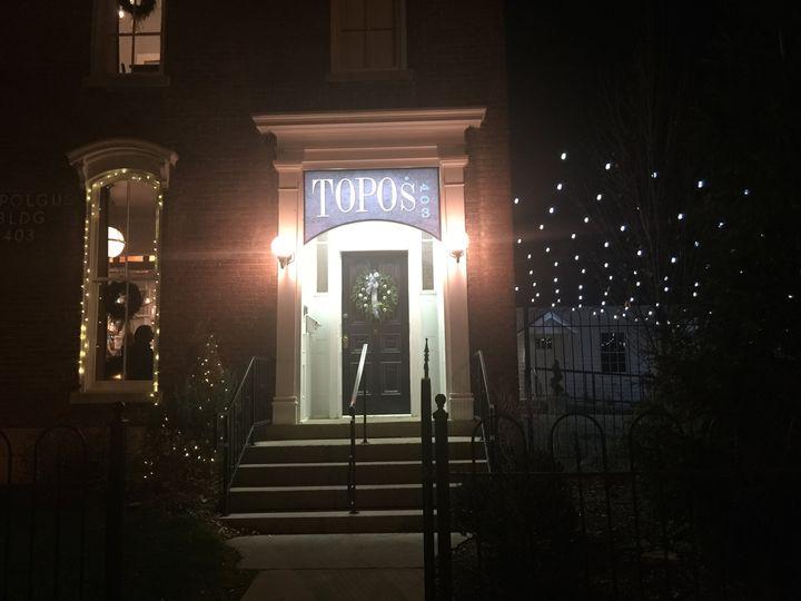 Topo's 403 entrance