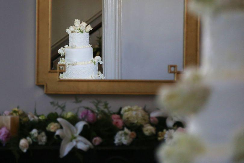 Topo's 403 wedding cake