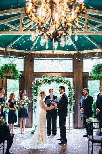 Indoor Mansion Ceremony