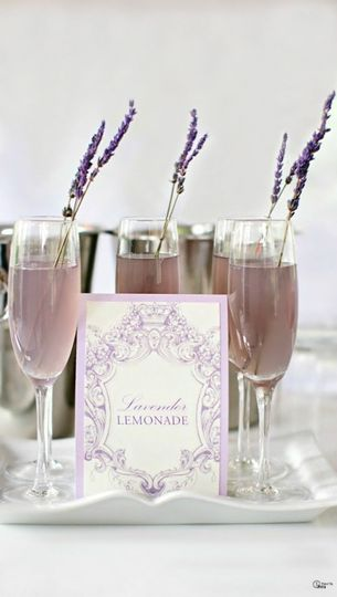 Lavender cocktail