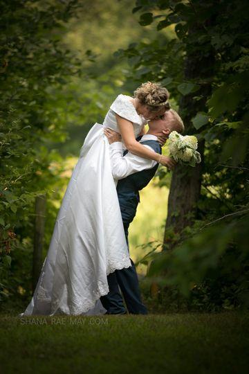 Romantic First kiss