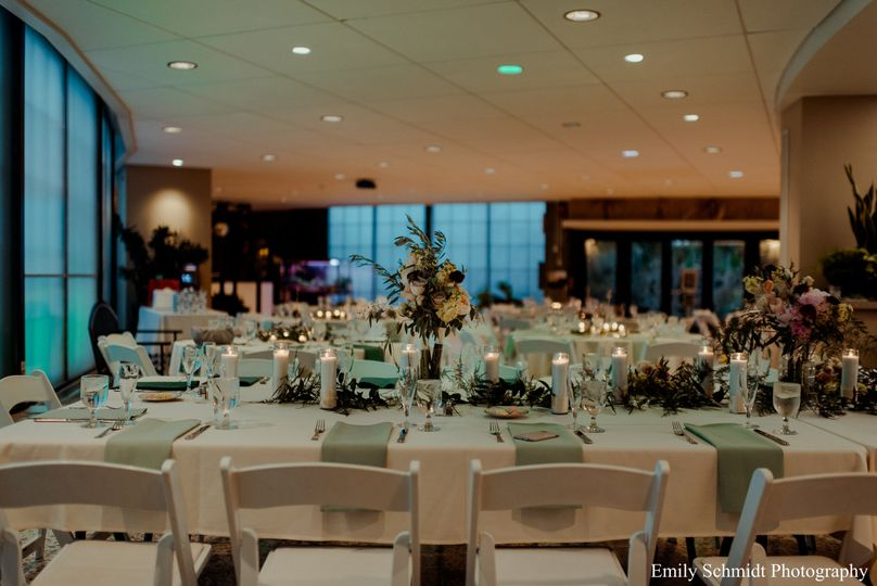 Reception in the Lobby