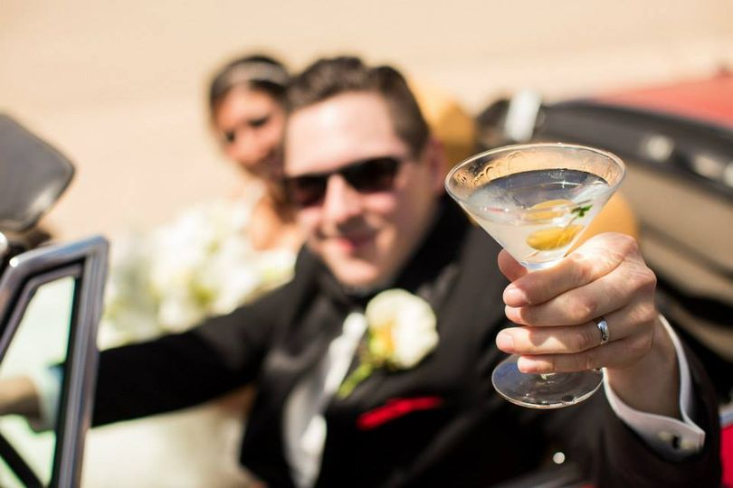 Martini shaken, not stirred