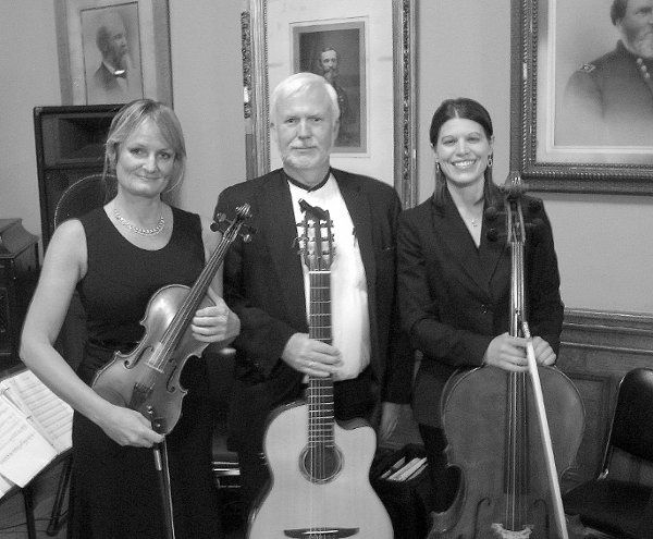 Newburg Trio at Memorial Hall downtown Cincinnati.