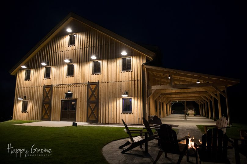 The Barn Patio and Fire Pit