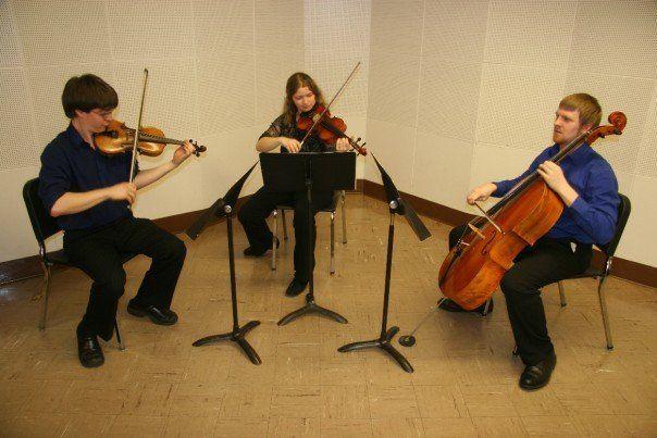 Performing in trio c. 2007