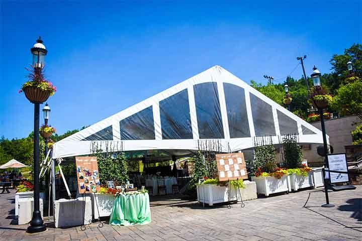 Summit Courtyard Reception