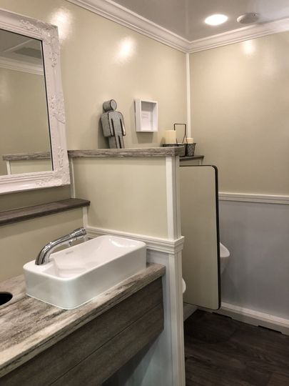 The clean comfort rooms