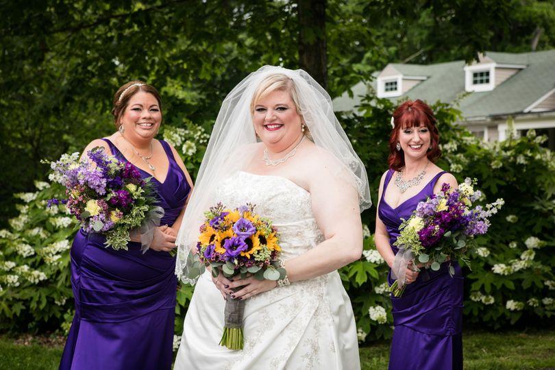 Beautiful in violet