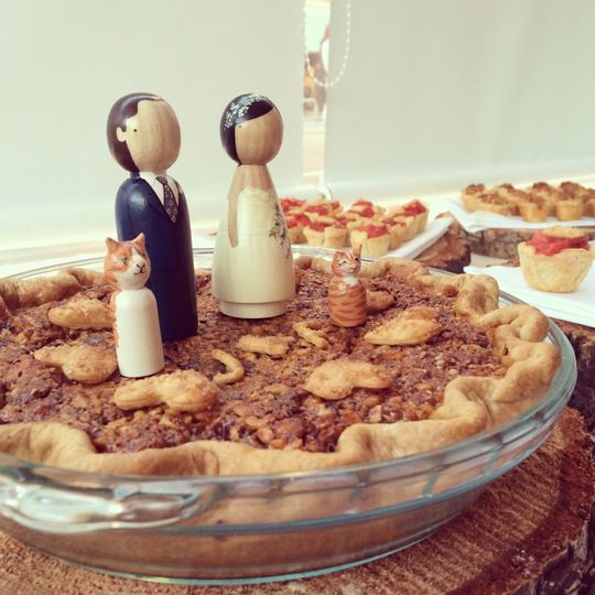wedding pie jandf