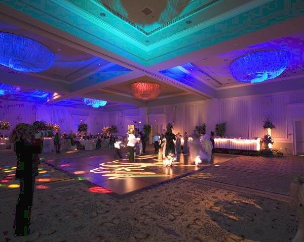 LED color changers provide the option of various different lighting effects all night long!