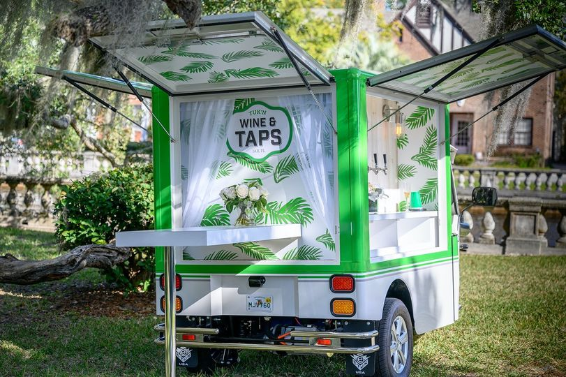 Mobile Bar back view