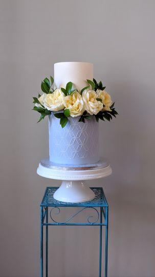 Dusky Blue Cake