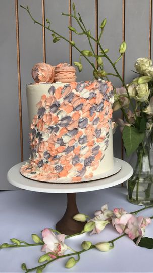 Cake with petals