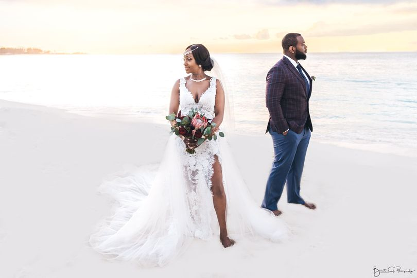 The reef Atlantis wedding