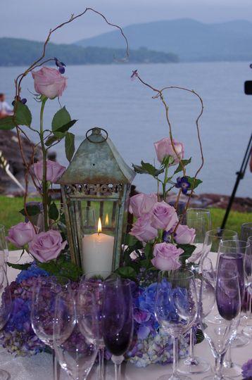 A candle light wedding