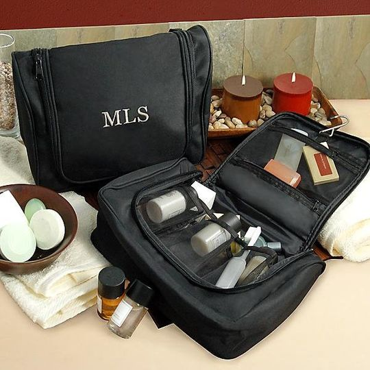 His & Hers Toiletry Bag http://www.marilynskeepsakes.com/bridal-party-gifts/