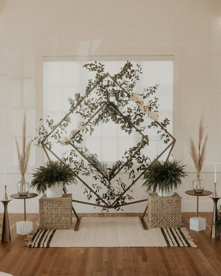 In-house diamond arch